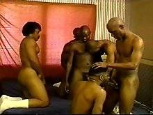 Now this is what a real thug orgy is all about - big black men - nasty attitudes and a hunger for hardcore, group sex! Things might start off all ligh
